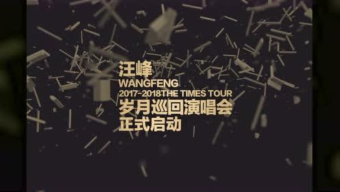 汪峰2017岁月巡演正式启动