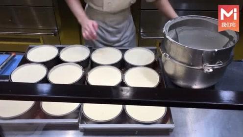 日本最好吃的芝士蛋糕,制作全过程,超赞的!