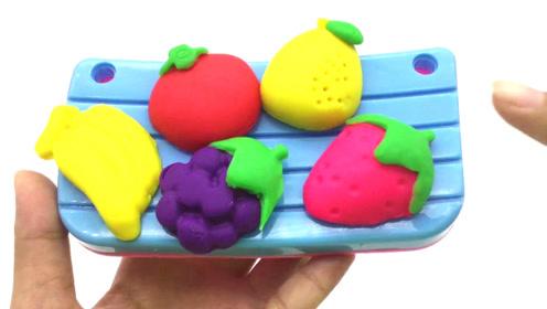 细菌小子培乐多粘土制作 彩泥手工食物 橡皮泥粘土