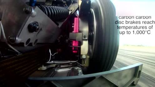 高速行驶时狂踩刹车,对刹车盘的考验有多大?