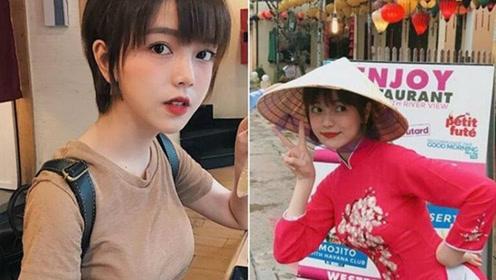 身材超好的越南美女走红网络 网友:像韩国人
