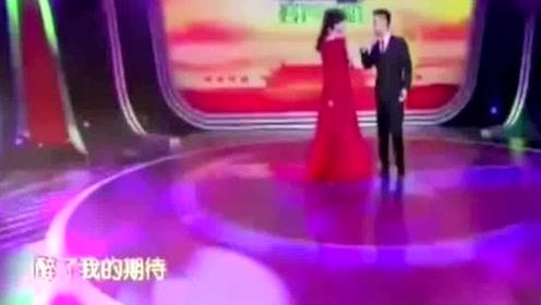 刘和刚和妻子同台演唱,他的妻子竟是世界小姐,唱歌也这么好听