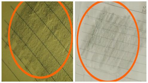 《和平饭店》穿帮镜头:奇怪!陈佳影拓印的纸张图案前后不同