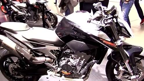 太帅了!2018 KTM 790 Duke摩托车