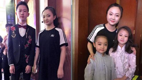 林妙可北京电影节合影小演员们 18岁的她依旧一脸稚气像个孩子
