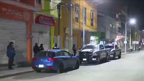 墨西哥一个警局遭突击检查 185名警察113人是冒牌
