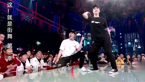 冠军争夺赛田一德VS韩宇,韩宇这一手模仿杰克逊的舞蹈太帅了