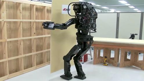 日本发明盖房机器人,独立搬运修筑干式墙,有人敢住吗?
