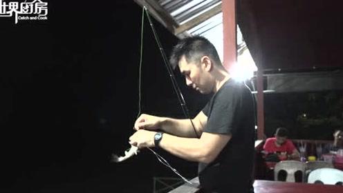 面包也能钓鲶鱼,这种技巧还是从亚马逊土著那里学来的