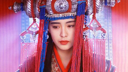 王祖贤这身嫁衣太美了,野兽看了都想劫亲!忍不住再刷1遍!