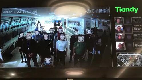 两岸e行,首届海峡两岸网络新媒体大陆行报道团体验人脸识别系统