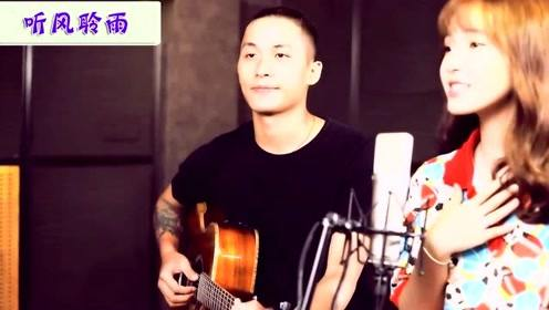 越南治愈系美少女演绎好听的越南语歌曲,笑容甜美