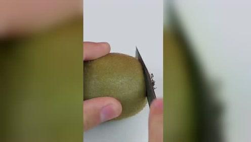 猕猴桃这样也能做成新花样,看得人直流口水!