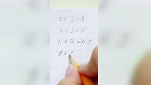 孩子在家写作业没橡皮了?这个方法非常好用啊!