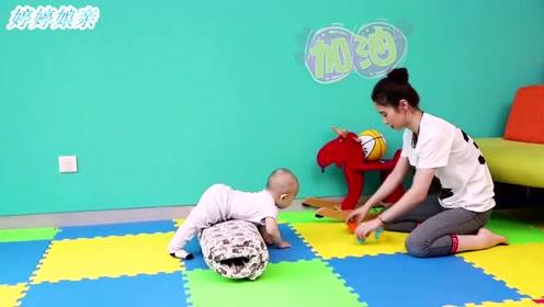 如何帮助宝宝练习爬行,不仅能加强四肢力量,还可以帮助他学习站立