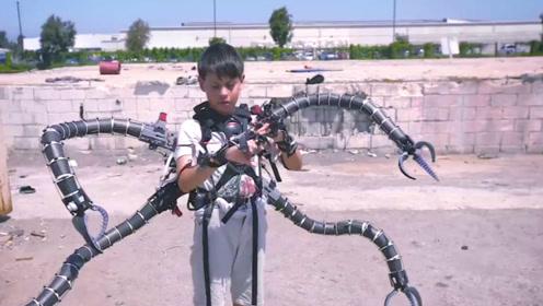 靠比特币发家的小男孩,因发明章鱼触手火了