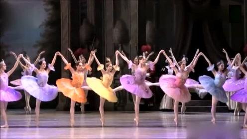 """闻名欧洲的""""芭蕾七仙女"""",如此优雅的舞姿难得一见"""