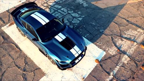 2020 福特Mustang Shelby GT500发布,这才是真正肌肉超跑!