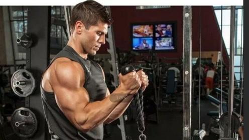 一次手臂训练,让你感觉臂围马上突破一公分,四个动作就有效
