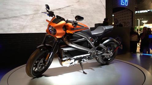 哈雷电动摩托LiveWire正式上市,全铝车身4秒破百!