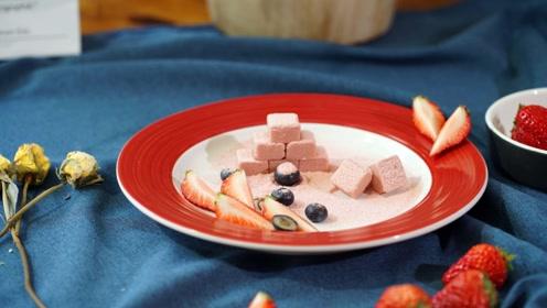 生巧太贵?在家也能做出美味的莓果生巧