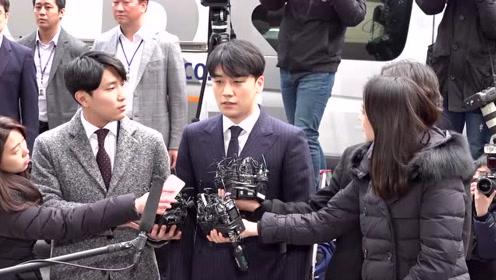 郑俊英前往调查被媒体围住 胜利现身警局先鞠躬道歉