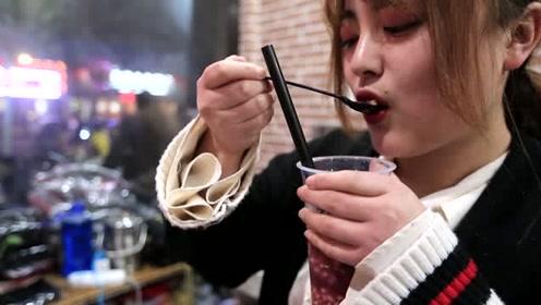 探访临颍美食:吃一口雪花酪,心都快融化了