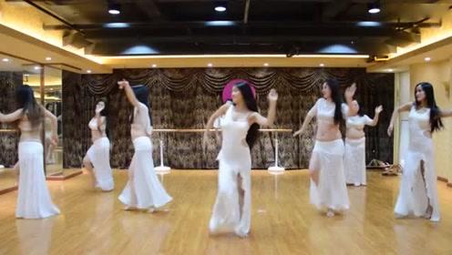 肚皮舞POP SONG《你离开了我》群舞好漂亮!