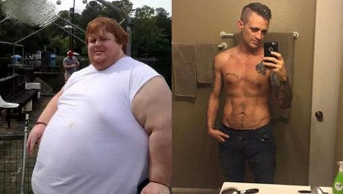 励志!肥佬减重23kg变成标志型男过程太艰辛