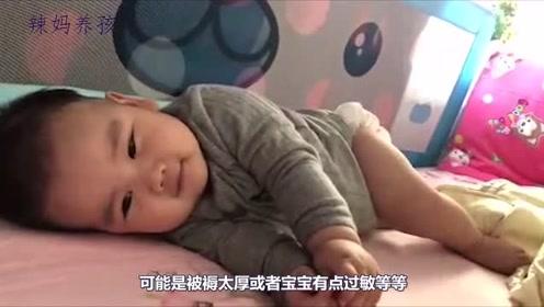 宝宝会有摇头的现象,是因以下四点造成的,宝妈们不要太过忧虑