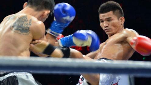 世界冠军金腰带得主欣玛尼,一个前手摆拳直接KO了希腊的战神!