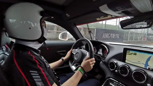 为了验证AMG-GT四门的性能,我们把它开上了赛道