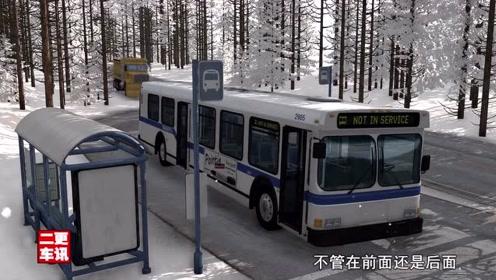 疯狂的大货车一路横冲直撞,这力度公交车拦得住吗?真实模拟