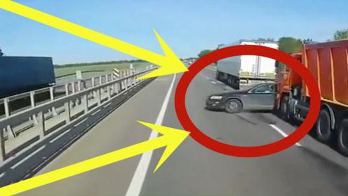 豪车司机太霸气了,下一秒认怂,真是不怕死!