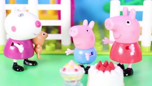 儿童节到了 小猪佩奇和乔治去参加小镇上的儿童节活动 玩具故事