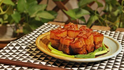 一个砂锅,一块五花肉,就能做出软嫩咸甜的东坡肉,肉还得这样吃