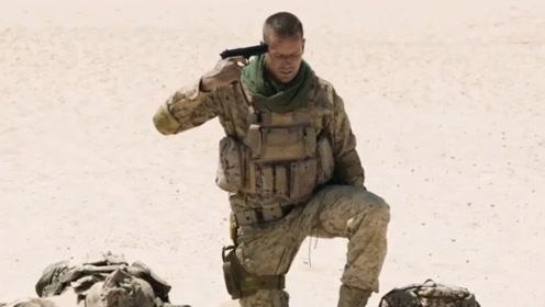 男子横穿沙漠踩到地雷,一天一夜不敢动弹,最后发现只是个罐头盒