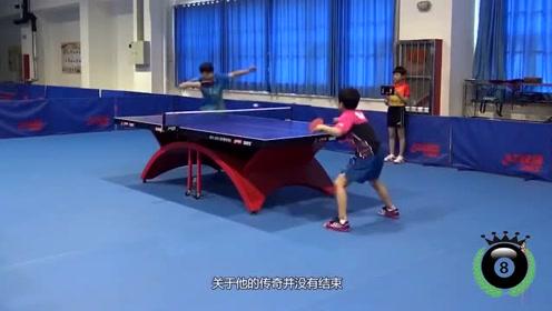 12岁登台公开赛,力压国乒排名世界第一,简直就是翻版张本智和