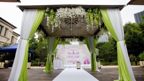 撩到全世界的牛油果绿婚礼,你是否也想拥有?