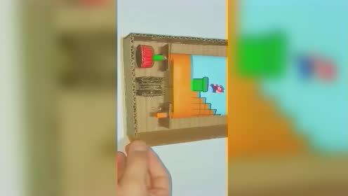 手工制作超级玛丽游戏机,让我们一起追忆一下青春,简单易学