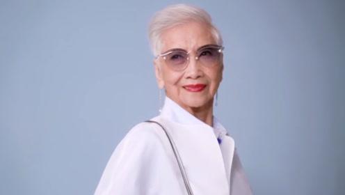老奶奶93岁才出道,96岁成为香港最红模特,少女心十足!
