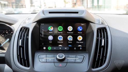 车一族们来一起感受谷歌最新版本Android Auto系统