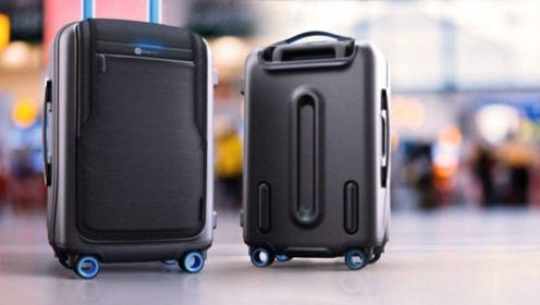 看似普通的行李箱,秒变各种东西,还能跟随主人,回头率100%