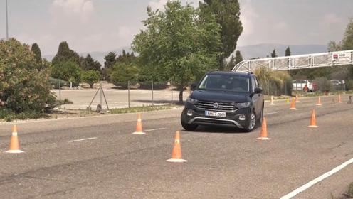 大众最小SUV的麋鹿测试成绩竟然完爆本田思域!