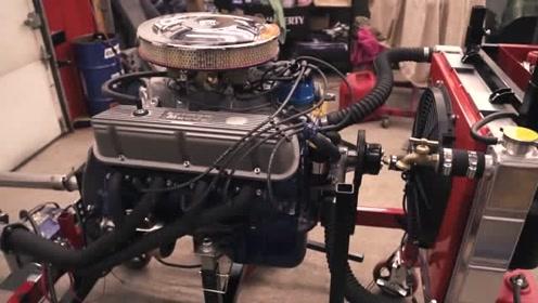 延时摄影修复一台福特野马MustangGT350发动机全过程