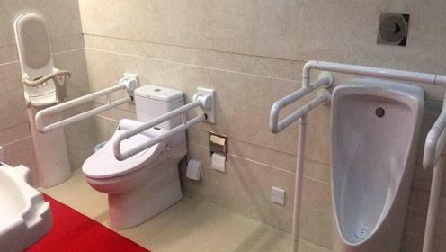 除男、女厕所外,泰国还有带紫色标志特殊厕所,普通人千万别进!