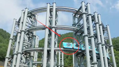 """中国一重磅工程问世!贵州省的""""高铁爬楼"""",成为世界首创"""