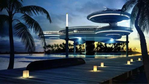 迪拜海底酒店,只有21间客房,住一晚就要花37000人民币
