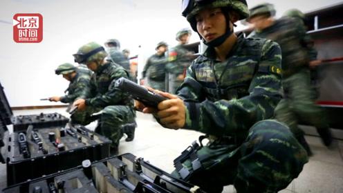 快!中国武警的出警速度 看完能让人热血沸腾