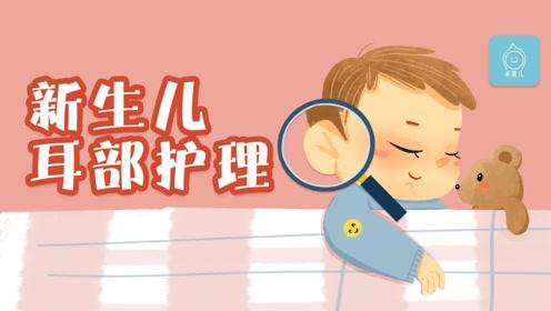 新生儿耳部护理的3大要点!家长必会篇!